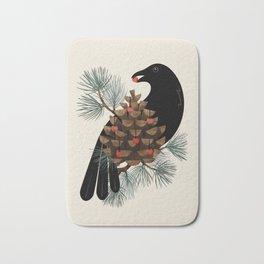 Bird & Berries Bath Mat