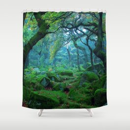 teal green shower curtain.  Green Shower Curtains Society6