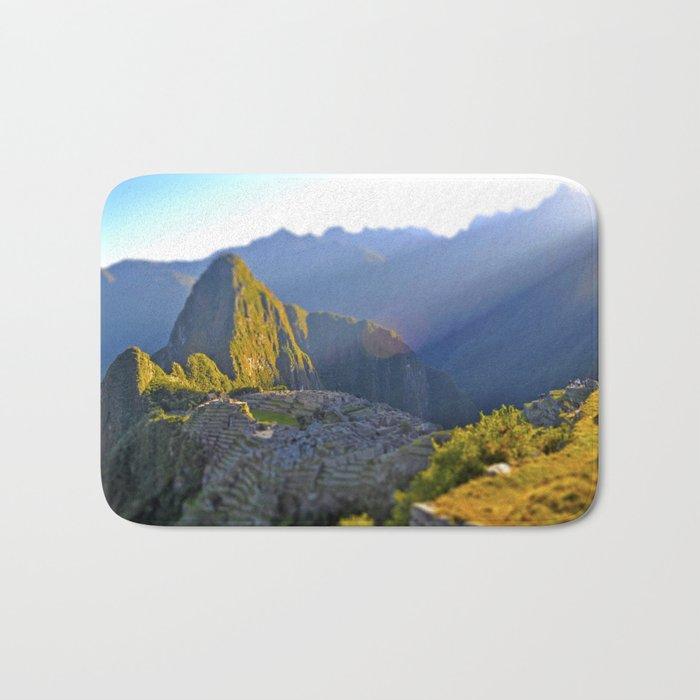 Machu Picchu Bath Mat
