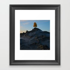 The Tree on the Mountain Framed Art Print