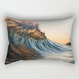 Backdoor view Rectangular Pillow