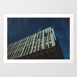 Eastern Building, Los Angeles Art Print