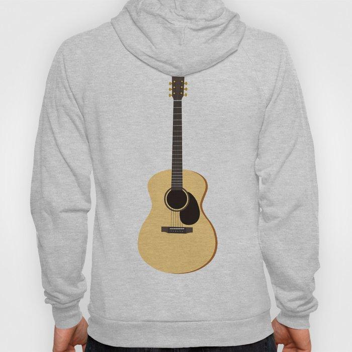 Acoustic Guitars Pattern Hoody