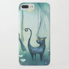 Cat in the forest iPhone 7 Plus Slim Case