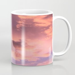 Day to night sunset sky, Dusk Clouds Coffee Mug