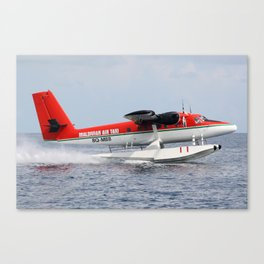 Indian Ocean Take-off Canvas Print