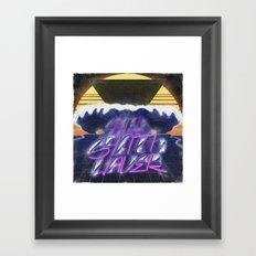 Synthwaver Framed Art Print