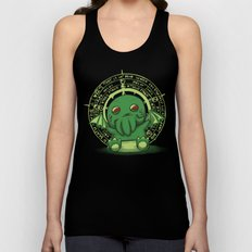 Little Cthulhu Unisex Tank Top