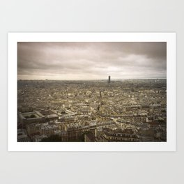 Paris - Montmartre Art Print