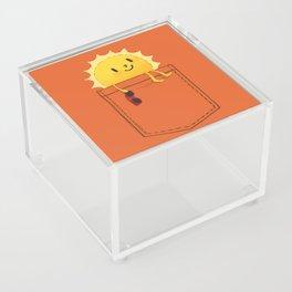 Pocketful of sunshine Acrylic Box
