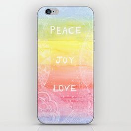 ~ Love ~ Joy ~ Peace ~ iPhone Skin