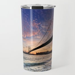 Sunset Bridge Travel Mug