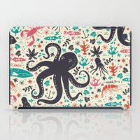 sea iPad Cases featuring Sea Patrol by Anna Deegan