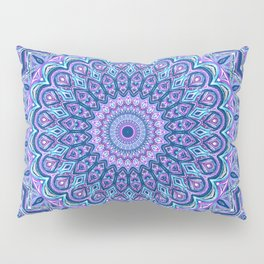 Purple Passion - Mandala Art Pillow Sham