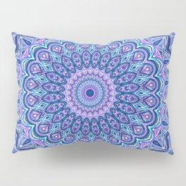 Purple Passion - Mandala Art Pillow Sham