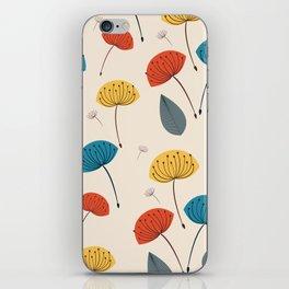 Dandelions in the wind iPhone Skin