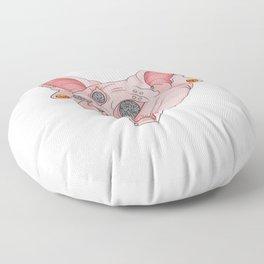 Freaky Kitty v.2 Floor Pillow