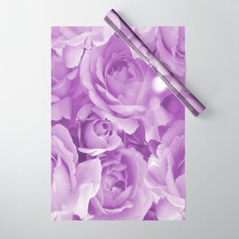 Violet Rose Bouquet For You - Valentine's Day #decor #society6 #buyart Wrapping Paper