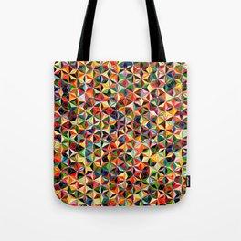 Star Cubes Geometric Art Print. Tote Bag