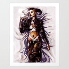 Mass Effect - Jack Art Print