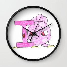 I is for Igglybuff Wall Clock