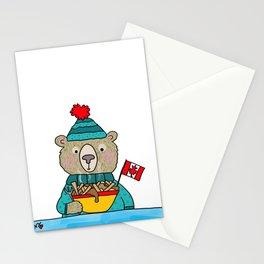 Mmm Poutine Stationery Cards