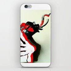 Elephant Naked Man iPhone & iPod Skin