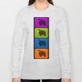Mixed Sheeps Long Sleeve T-shirt