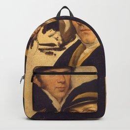 Francesco Hayez - Autoritratto in un gruppo di amici Backpack