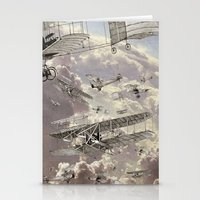 airplanes Stationery Cards featuring airplanes 2 by Кaterina Кalinich