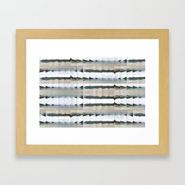 Antisamos Beach Framed Art Print