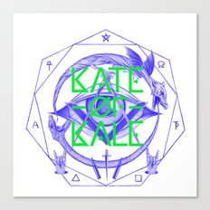 Kate of Kale's All Seeing Ch**bEye. Canvas Print