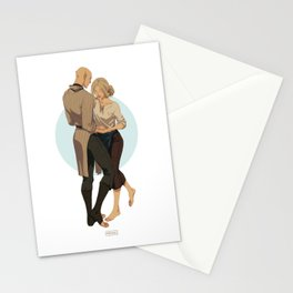 Ballroom dance Stationery Cards