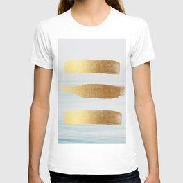 Golden sea T-shirt