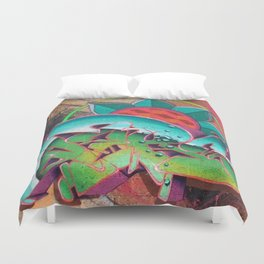 """Dances with waves"" Duvet Cover"