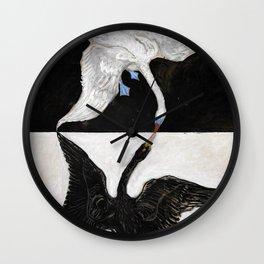 Hilma Af Klint The Swan No 1 Restored Wall Clock