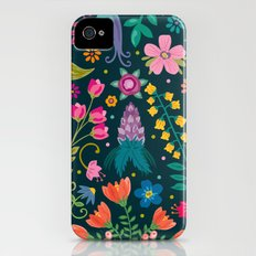 Floral Heart iPhone (4, 4s) Slim Case
