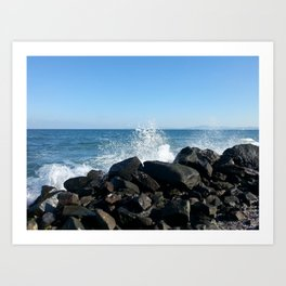 Sea wave Art Print