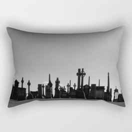 necropolis Rectangular Pillow