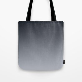Grey Ombre . Gradient . Tote Bag
