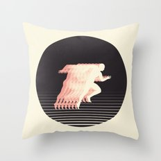 Terrestrial Locomotion Throw Pillow