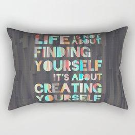Create Yourself Rectangular Pillow