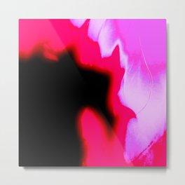 Fire Pink Metal Print