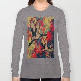 Two Cranes Long Sleeve T-shirt