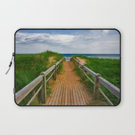PEI Beach Boardwalk Laptop Sleeve