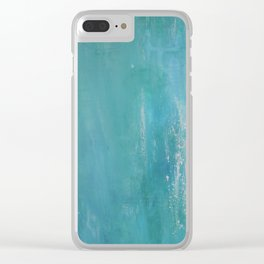 Sea of secrets Clear iPhone Case