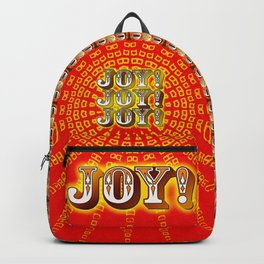 Joy! Joy! Joy! Backpack