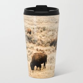 A Snow Storm Blowing In Travel Mug