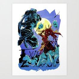 BLOODMEAT!! Art Print