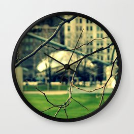 The Chicago Bean Wall Clock
